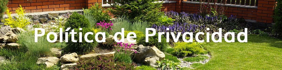 Privacidad Maquinaria de Jardín Enrique