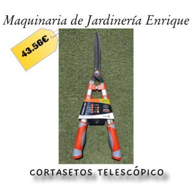 Cortasetos telescópico - Maquinaria de Jardín Enrique