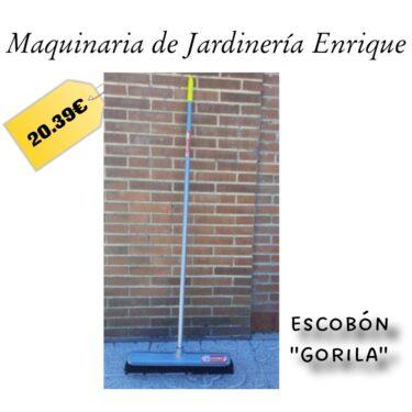 """Escobón """"Gorila"""" - Maquinaria de Jardín Enrique"""