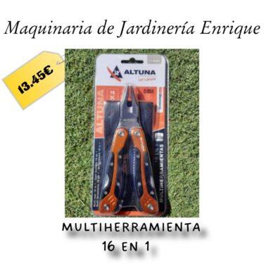 Multiherramienta 16 en 1 - Maquinaria de Jardín Enrique