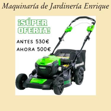 Cortacésped Greenwork - Maquinaria de Jardín Enrique