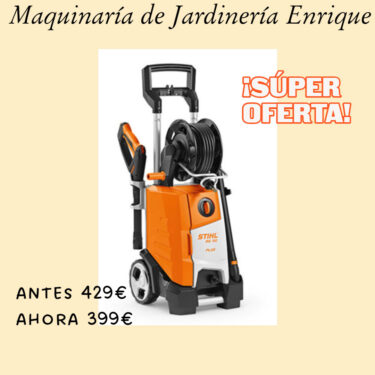 Hidrolimpiadora STIHL RE 130 Plus - Maquinaria de Jardín Enrique
