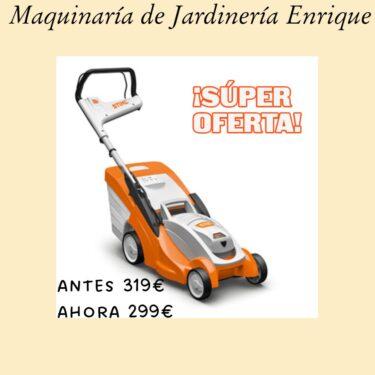 Cortacésped STIHL RME 339 C - Maquinaria de Jardín Enrique