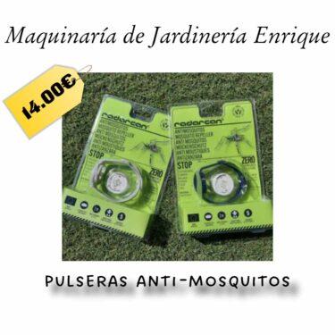 Pulseras anti mosquitos - Maquinaria de Jardín Enrique